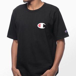 Champion Life C Logo T-Shirt Black Big C Logo